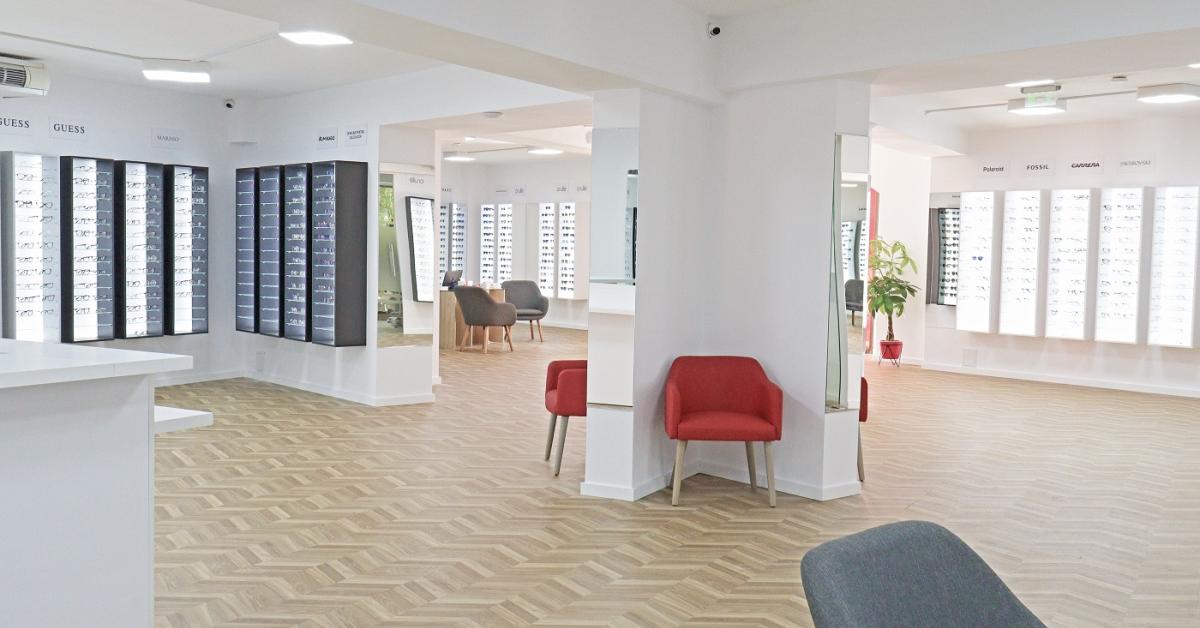 Retailerul de optică Videt a deschis în octombrie un nou showroom lângă Mall Vitan din București